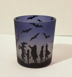 New Yankee Candle Purple Frosted Halloween Trick or Treat Vo