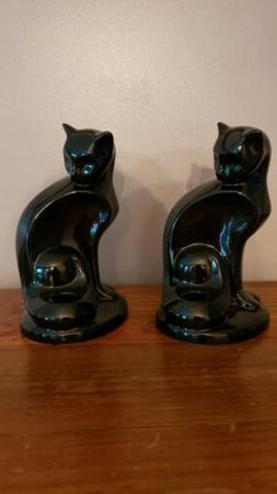 NEW! SET OF 2 YANKEE CANDLE  BLACK CAT SINGLE TAPER CANDLE H