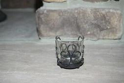 NEW YANKEE CANDLE VOTIVE/ TEALIGHT CANDLE HOLDER METAL SCROL