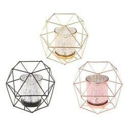 Nordic Style 3D Geometric Candlestick Metal Candle Holder We