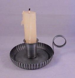 Ol' Taper Holder, Metal Vintage-Style Taper Candle Holder wi