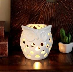 Better Homes and Gardens Owl Candle Holder Ceramic Home Deco