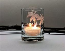 Palm Tree Personalized Wedding Favors Beach Reception Decor