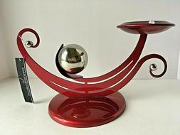 PAWLOWSKI European Made Contemporary CANDLE HOLDER Modernist