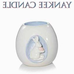 Yankee Candle Pearlescent EGG WITH BUNNY Candle Holder 🐰