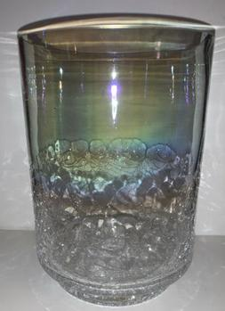 "Yankee Candle PEARLESCENT Jar Candle Holder 8"" X 5.5"" NI"
