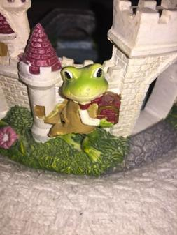 Yankee Candle Prince Frog Candle Holder / Tray NWT!