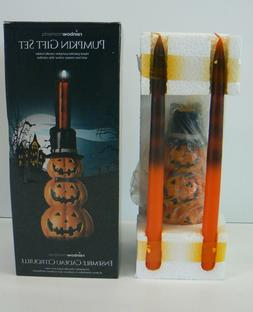 "Rainbow Moments Halloween Candle Holder and 2 10-1/4"" Taper"