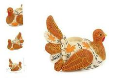 Resin Turkey Candle Holder Thanksgiving Candle Holders Autum