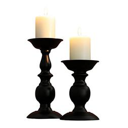 Retro Iron Candle Holder Cylindrical Candle Holder Table Can