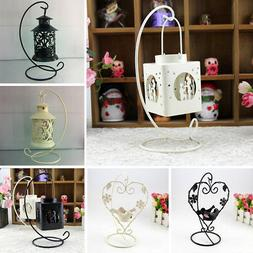 romantic candle holder cage love heart candlestick