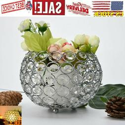 ROMANTIC Candle Holder Crystal Tea Light Candle Holders/Cand