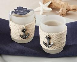 """Anchors Away"" Rope Tealight Holder- Total items 96"