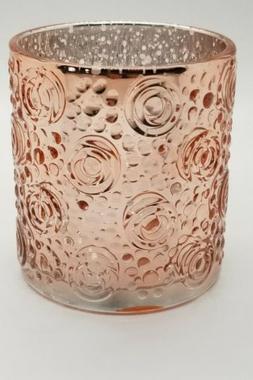 RICHLAND ROSE GOLD NADINE MERCURY TEA LIGHT - CANDLE HOLDER