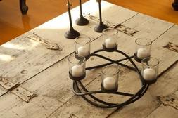 Danya B Round Waves Candleholder