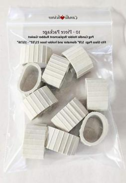 Rubber Gasket for Peg Candle Holder
