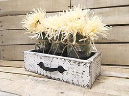 Rustic Reclaimed Wood Box, Wooden Painted Drawer, Reclaimed