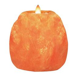 Himalayan Glow 3002 Salt Candle Holder, Tea Light, 3 lb, Umb