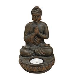 Whole House Worlds The Seated Buddha Tealight Candle Holder