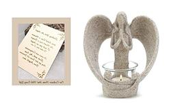 sending you angel candle holder
