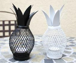 Set of 2 Pineapple Tealight Lanterns / Candle Holders