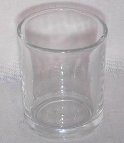Set of 40 Votive Tea Light Glass Candle Holders - Clear  Wed