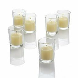 Richland Set of 72 Ivory Votive Candles and 72 Eastland Voti