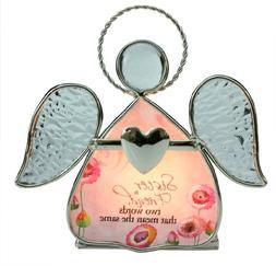 BANBERRY DESIGNS Sister Candleholder - Angel Candle Holder -