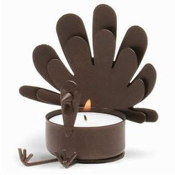 Tag Sitting Turkey Metal Tealight Candle Holder
