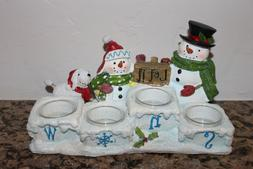 Yankee Candle Snow Family Let it Snow Multi Tea Light Holder