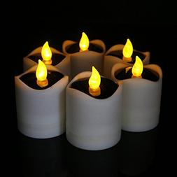 Solar Candles, Solar Power Electronic Nightlight LED Candle