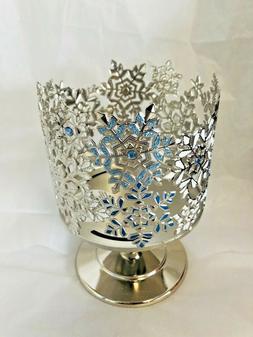 Bath & Body Works Sparkle Gem Snowflake Large 3-Wick Candle