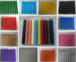 """Spell Candles 4"""" Lot of 10 - Choose from 20 Colors Mini Tape"""