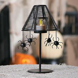 Spider Votive Candle Holder Lamp Halloween Decoration - Home