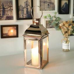 Stainless Steel Candle Lanterns VintageMetalLanternCan