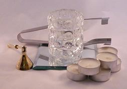 Tea Light, Holder and Accessories Gift Set