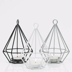 Richland Tealight Candle Holders Geometric Set of 12 Home, E