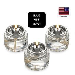 Bulk Tealight Fuel Cells Liquid Paraffin Oil Candles - Dispo