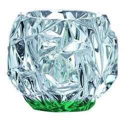 Beautiful Tiffany & Co Crystal Rock Cut Votive Candle Holder