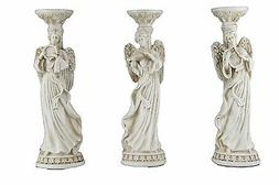 Oh! Trendy trade; Trio Angel Candle Holder Stand | Greco-Rom