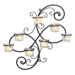 Stonebriar Transitional Scrolled Ivy Tea Light Candle Holder