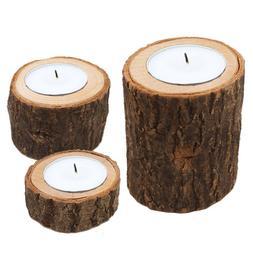 Tree Branch Wood Candle Holder Vintage Wood Tea Light for Ca
