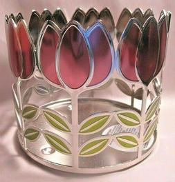 Bath & Body Works Tulip Blooms 3 Wick Candle Sleeve Holder