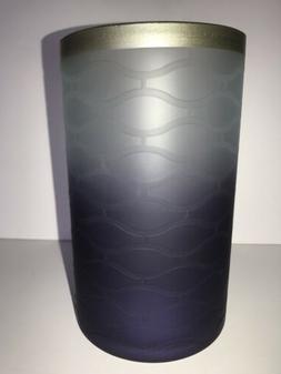 Yankee Candle TWILIGHT DUSK Glass Jar Candle Holder NIB