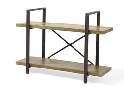 Two Level Rustic Shelving Unit