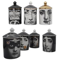 Vintage Fornasetti <font><b>Candle</b></font> <font><b>Holde