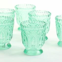 Koyal Wholesale Vintage Glass Candle Holder , 3 x 2.75