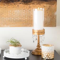 Vintage Hurricane Candle Holder Home Wedding Decor Pillar Ac