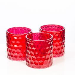 Richland Votive & Tealight Candle Holder Chunky Honeycomb Gl