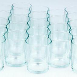 Fantado Votive Tea Light Glass Candle Holders - Clear   by P